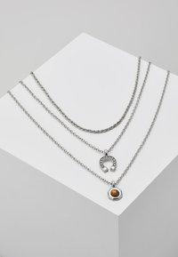 ERASE - MUTLROW WESTERN - Collana - silver-coloured - 1