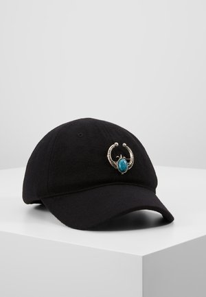 TURQ STONE - Cap - black