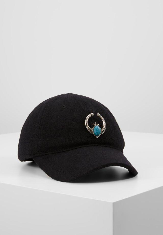 TURQ STONE - Caps - black