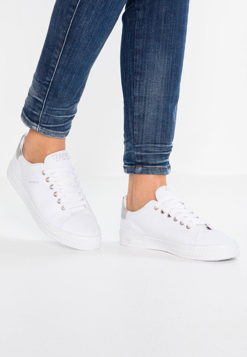 Esprit - NETTA VEGAN - Baskets basses - white