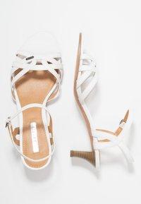 Esprit - BIRKIN VEGAN - Sandals - white - 3