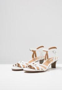 Esprit - BIRKIN VEGAN - Sandals - white - 4