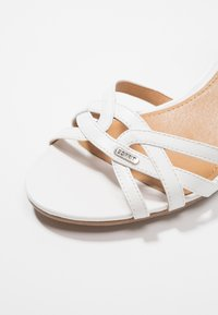 Esprit - BIRKIN VEGAN - Sandals - white - 2