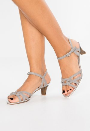 BIRKIN - Sandals - light grey