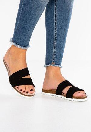 KENDAL SLIDE - Pantofle - black