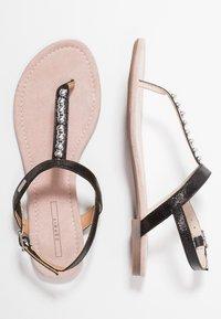 Esprit - PEPE THONG - T-bar sandals - black - 3