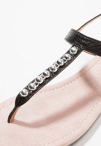 Esprit - PEPE THONG - T-bar sandals - black - 2