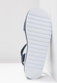 Esprit - ABIA PLAT - Platform sandals - navy - 6