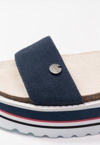 Esprit - ABIA PLAT - Platform sandals - navy - 2