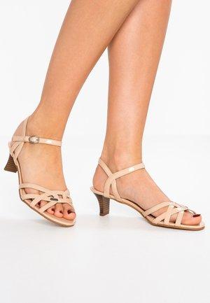BIRKIN VEGAN - Sandals - camel