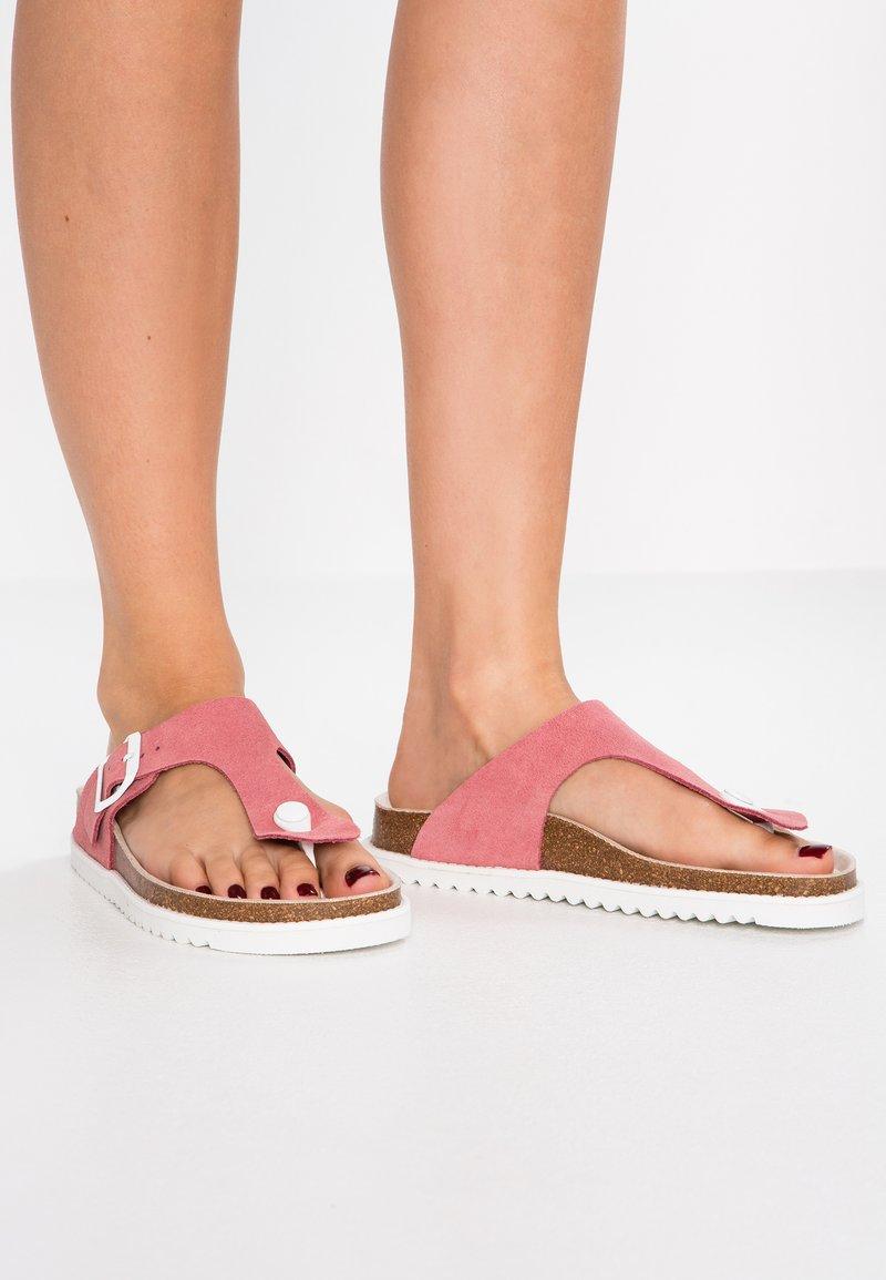 Esprit - MELLY THONG - Zehentrenner - pink