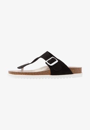 MELLY THONG - Sandály s odděleným palcem - black