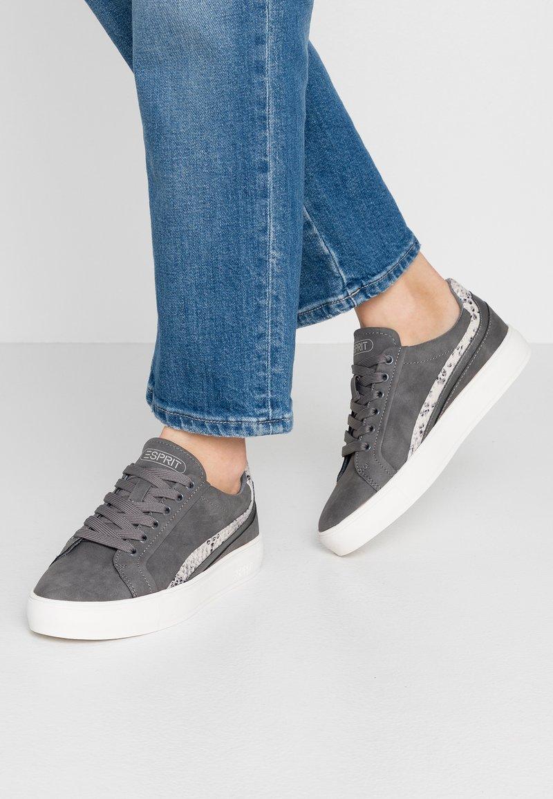 Esprit - COLETTE - Sneakers - dark grey