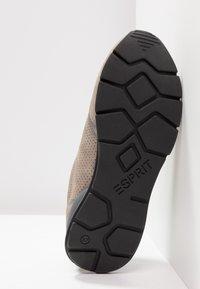 Esprit - BLANCHET VEGAN - Trainers - brown/grey - 6