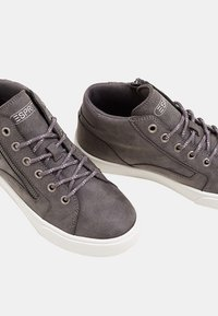 Esprit - CHERRY ZIP VEGAN - Høye joggesko - gunmetal - 4