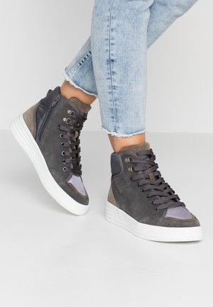 LUNI BOOTIE - High-top trainers - anthracite