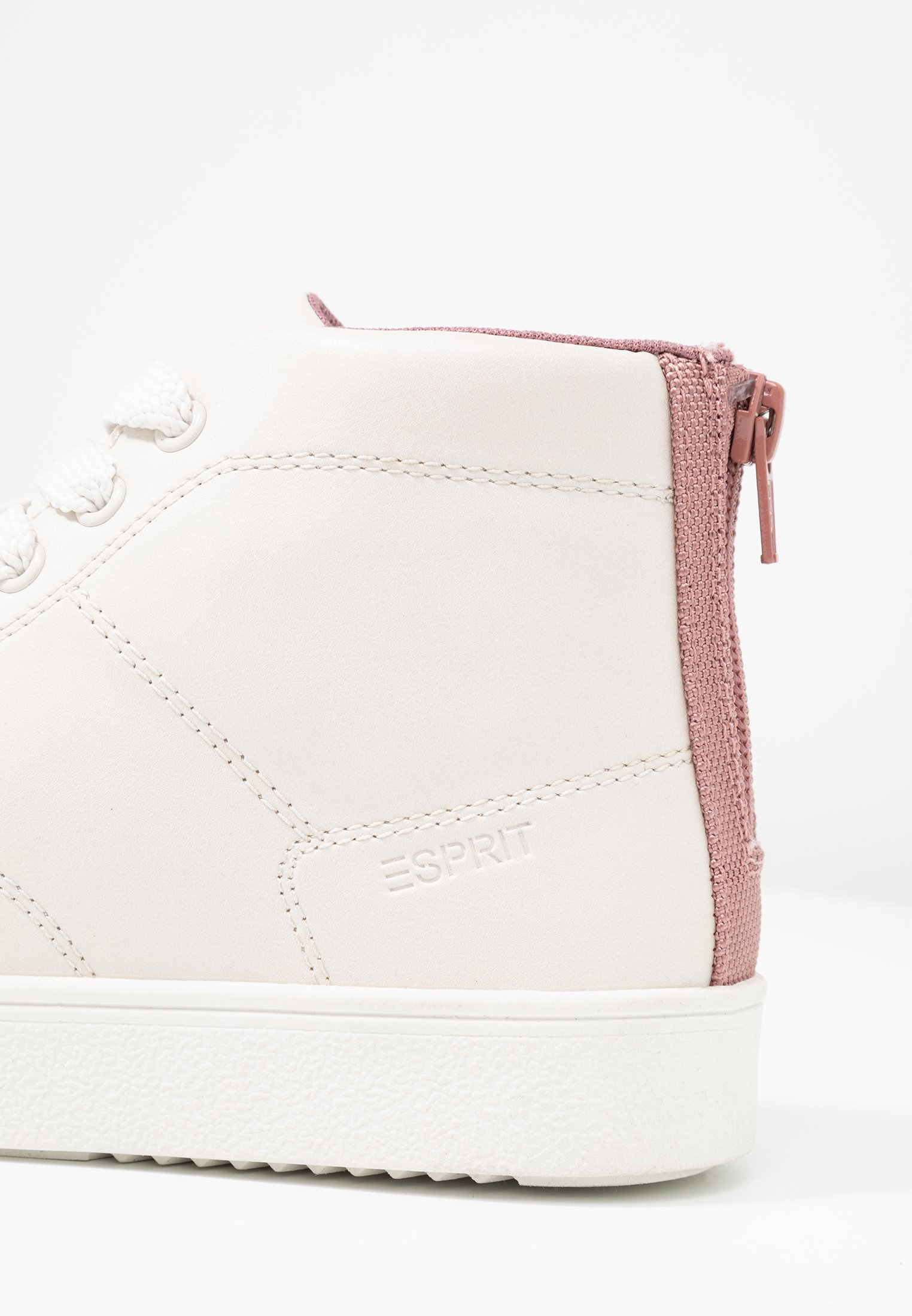 Esprit CHERRY ZIP VEGAN - Baskets montantes dark old pink