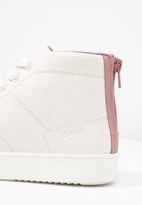 Esprit - CHERRY ZIP VEGAN - Vysoké tenisky - dark old pink - 2