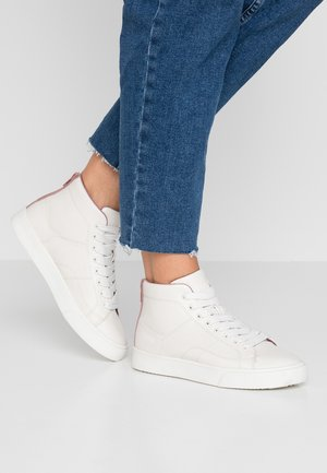 CHERRY ZIP VEGAN - High-top trainers - dark old pink