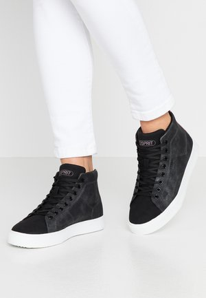 CHERRY - Höga sneakers - black