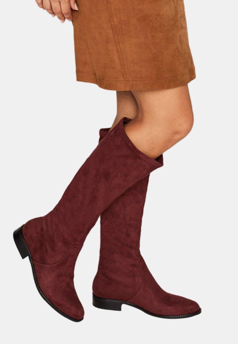 Esprit - STEVY BOOT - Laarzen - burgundy red