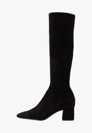 ALEXA BOOT - Stivali alti - black