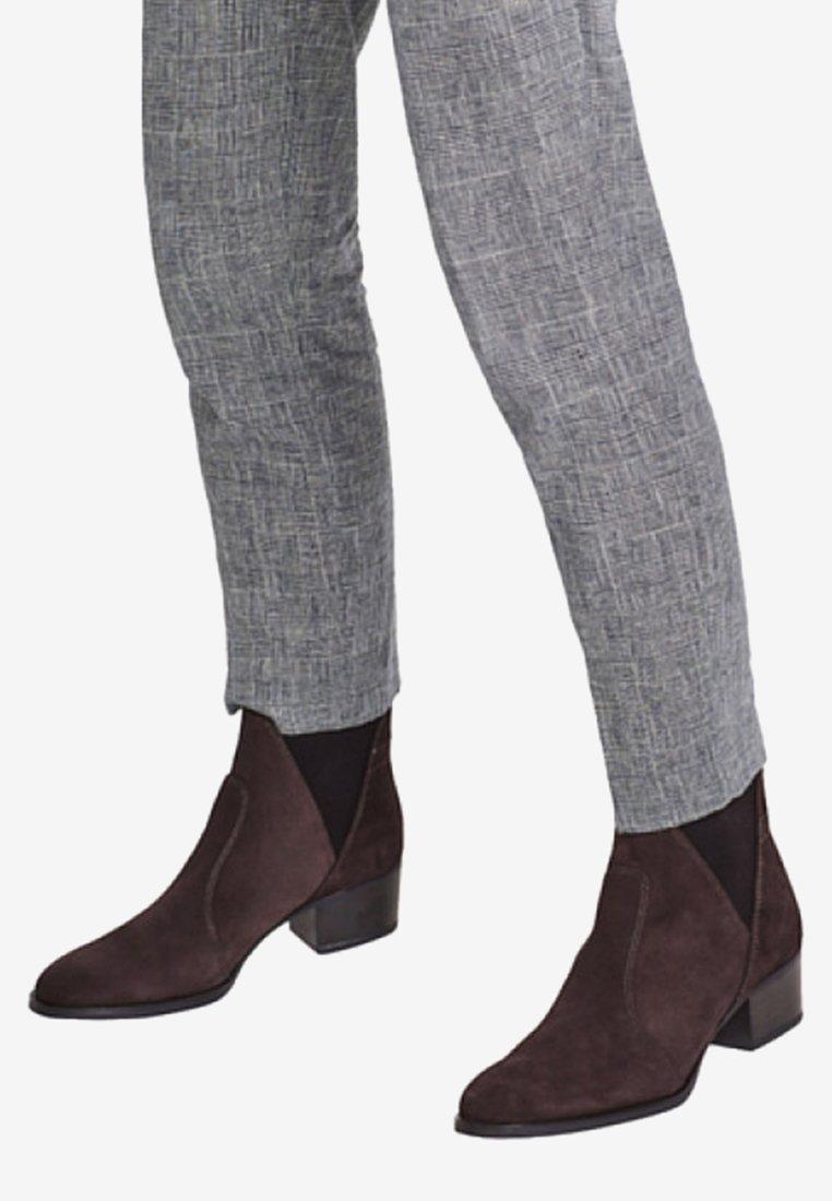 Esprit - MIT BLOCKABSATZ - Ankelstøvler - dark grey