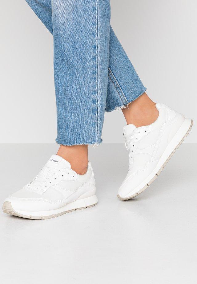 BLANCHET BASIC - Sneakers laag - white
