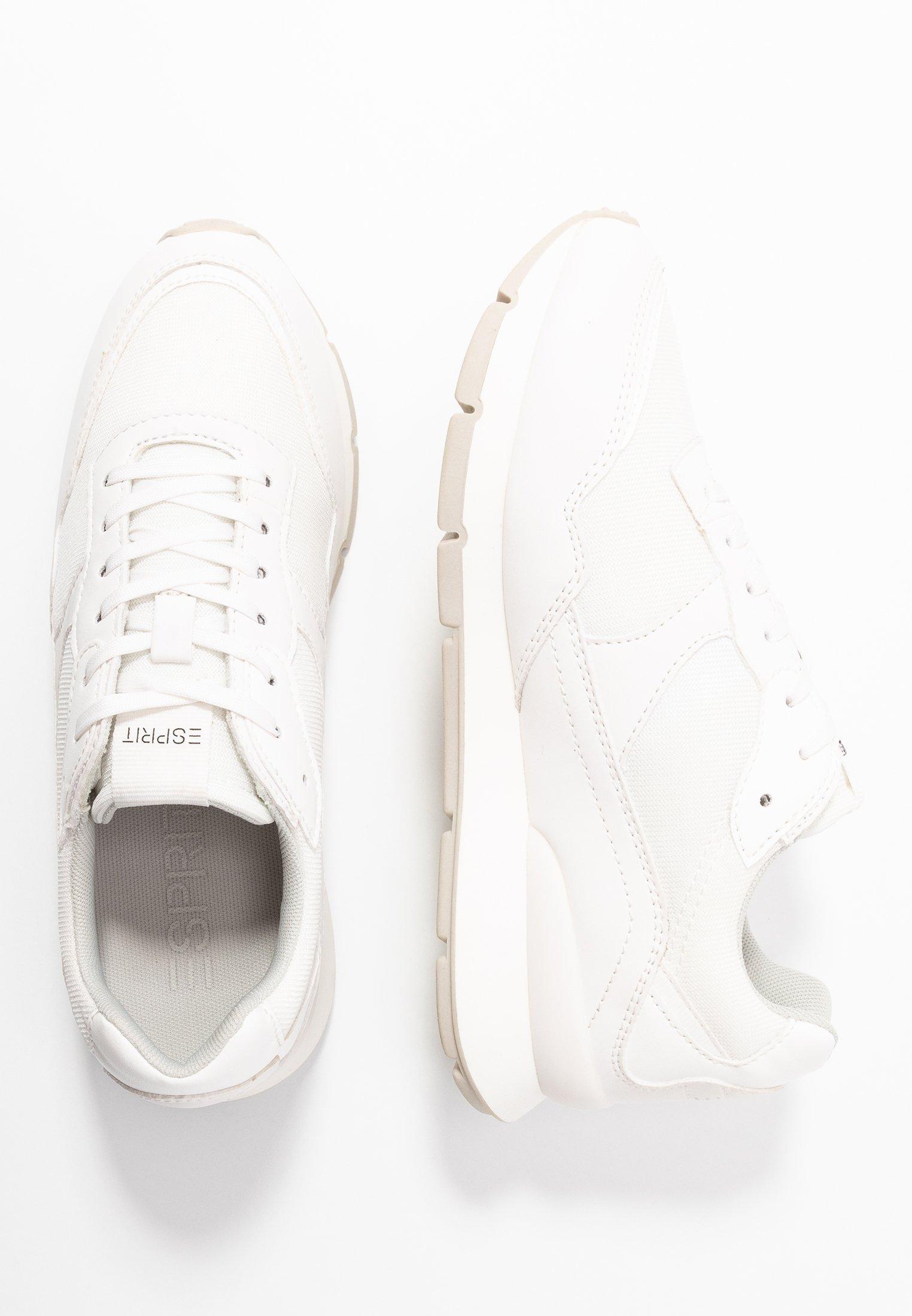 Esprit BLANCHET BASIC - Sneakers basse - white