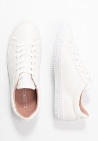 Esprit - RIATA LACE UP - Sneakersy niskie - white - 3