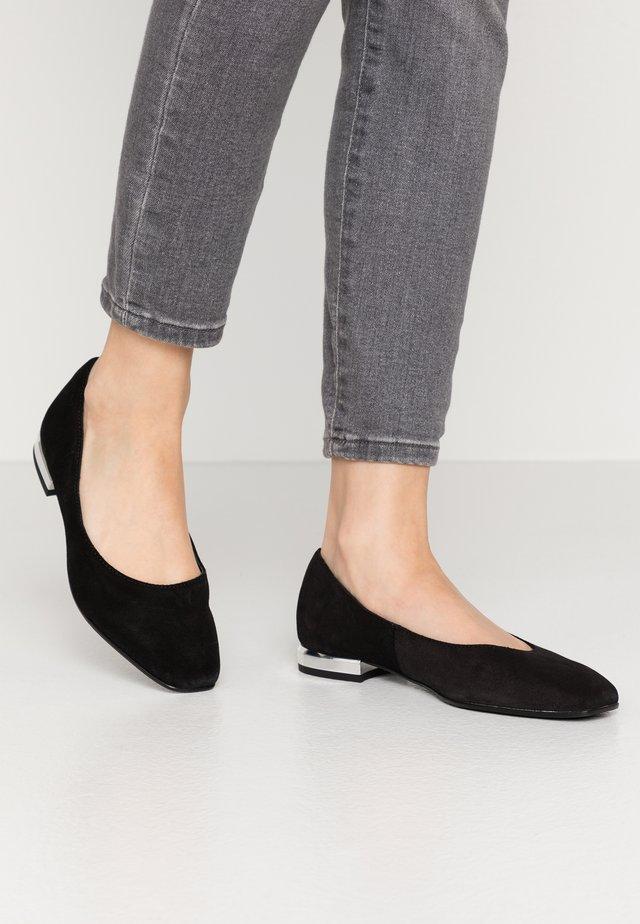 PIKA BAL - Ballet pumps - black