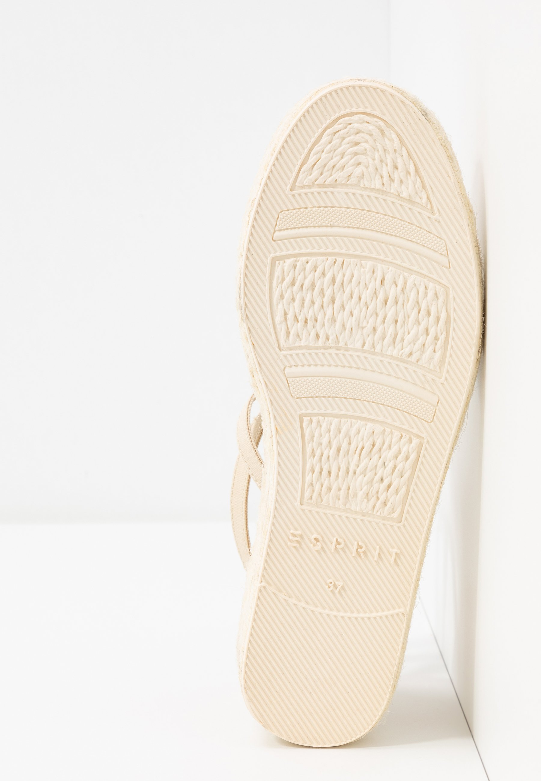Esprit INES TAPE SAND - Espadrilles - cream beige