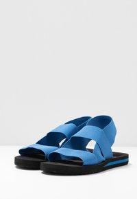 Esprit - SURF ELASTIC - Sandalias - bright blue - 4