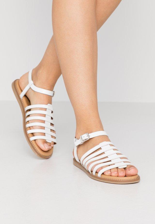 LEKY  - Sandales - white