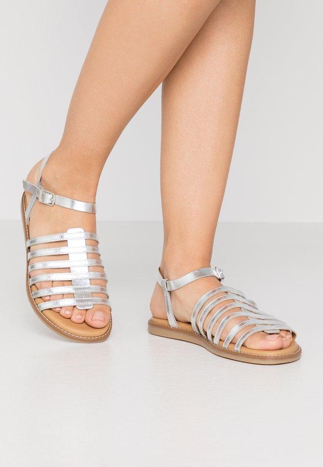 LEKY  - Sandály - silver