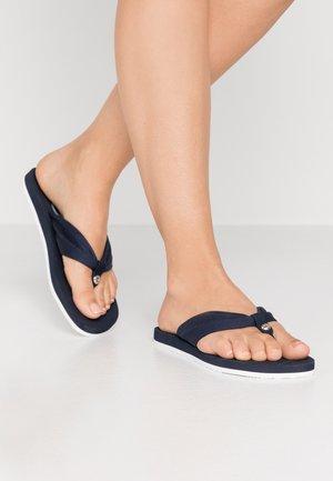 DENISE STUD - Flip Flops - navy