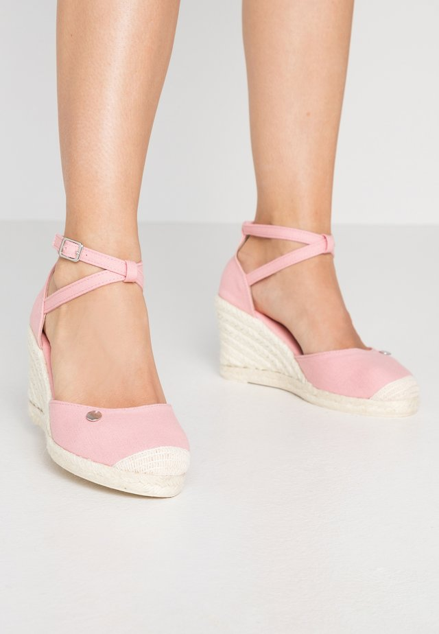 JAVA BASIC WEDG - Sandalen met hoge hak - pink