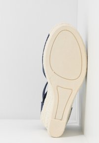 Esprit - JAVA BASIC WEDG - High heeled sandals - navy - 6
