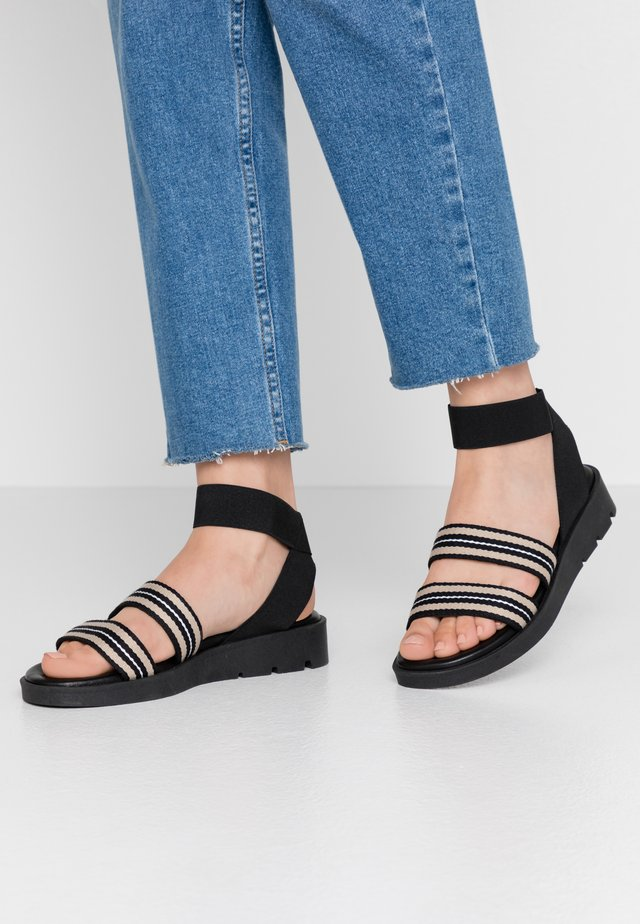 NOELE TAPE  - Sandals - black