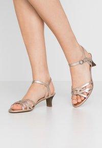 Esprit - BIRKIN  - Sandals - beige - 0