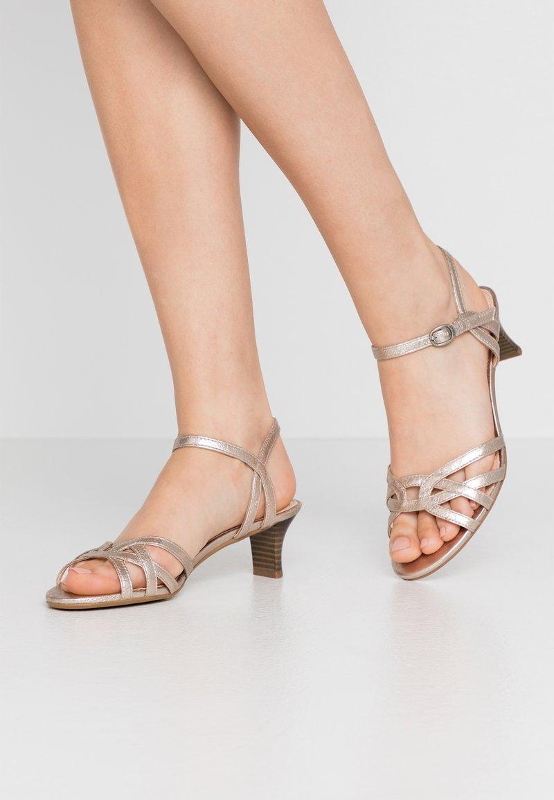 Esprit - BIRKIN  - Sandals - beige