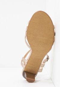 Esprit - BIRKIN  - Sandals - beige - 6