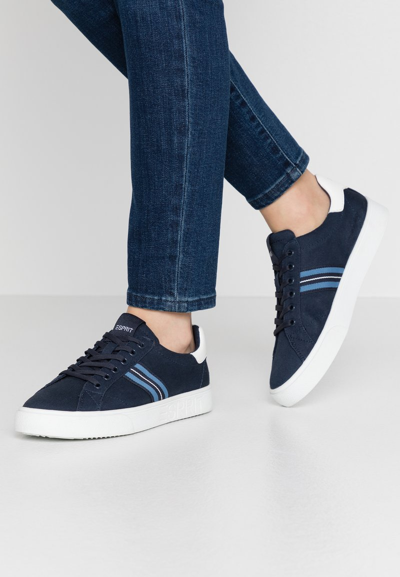 Esprit - CHERRY TAPE  - Sneakers basse - navy