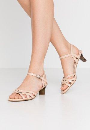 BIRKIN  - Sandals - camel
