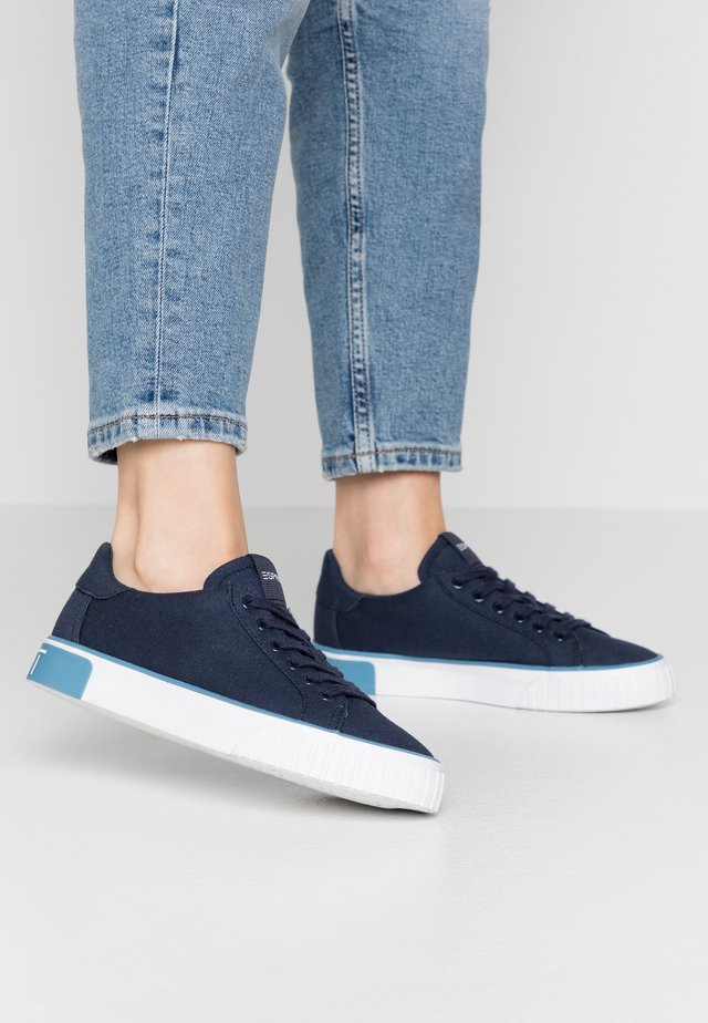 PAMELA LACE UP - Sneaker low - navy