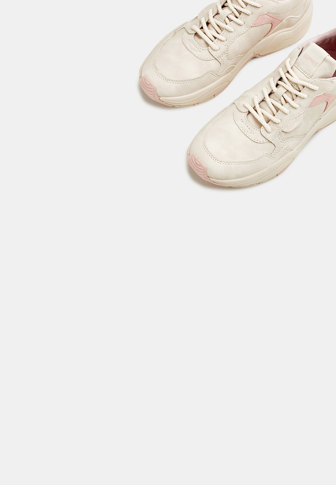 Esprit SNEAKER IN NUBUK-OPTIK - Sneakers - beige