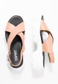 Esprit - HUNKY  - Platform sandals - blush - 3