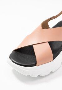 Esprit - HUNKY  - Platform sandals - blush - 2