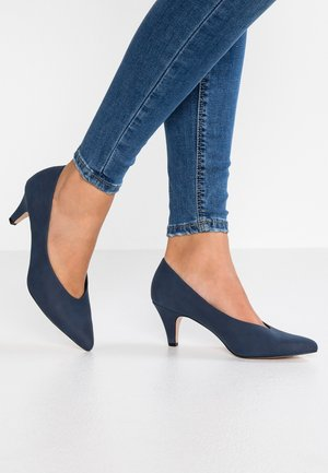 NADIA VEGAN - Escarpins - navy