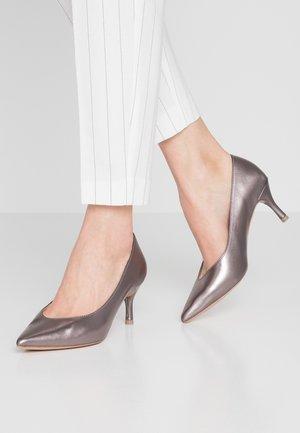 DANIELA - Classic heels - silver